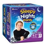 Babylove Sleepy Nights 4-7 Years Overnight Pants 15 Pack