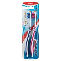 Macleans Multi Action Toothbrush Twin Pack Medium