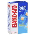 Band-Aid Clear Spots 40 Pack