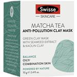 Swisse Matcha Tea Anti Pollution Clay Mask 70g