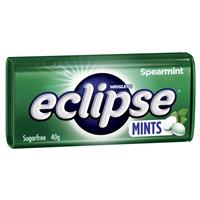 Eclipse Spearmint Mints 40g