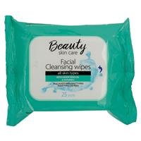 Beauty Skin Care Makeup Wipes 25 Pack