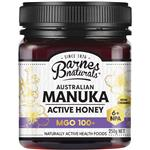 Barnes Naturals Australian Manuka Honey 250g MGO 100+ (Not For Sale In WA)
