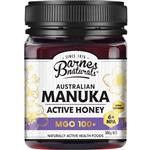 Barnes Naturals Australian Manuka Honey 500g MGO 100+ (Not For Sale In WA)