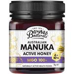 Barnes Naturals Australian Manuka Honey 1kg MGO 100+ (Not For Sale In WA)