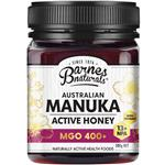 Barnes Naturals Australian Manuka Honey 500g MGO 400+ (Not For Sale In WA)