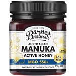 Barnes Naturals Australian Manuka Honey 250g MGO 550+ (Not For Sale In WA)