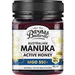 Barnes Naturals Australian Manuka Honey 500g MGO 550+ (Not For Sale In WA)