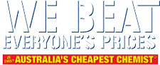 Chemist Warehouse - Australia's Cheapest Chemist Logo