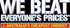 Chemist Warehouse - Australia's Cheapest Chemist Logo