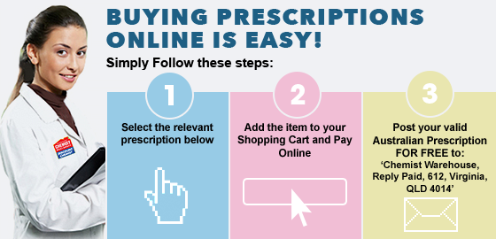 Buying Prescriptions Online at the Chemist Warehouse