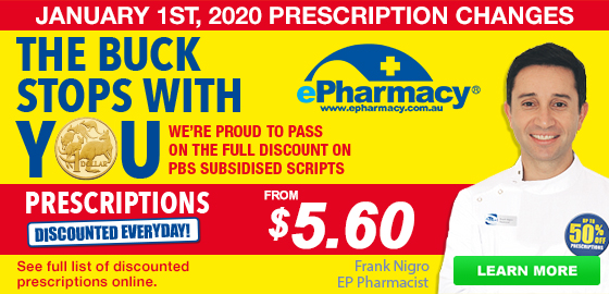 Chemist Warehouse - The buck stops with you - prescriptions from $5.40